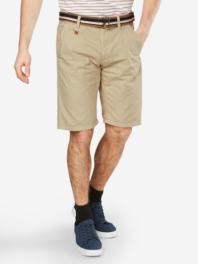 INDICODE JEANS Chino hlače 'Royce' | svetlo bež barva, Prikaz modela