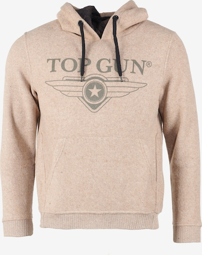 TOP GUN Sweatshirt 'Swamp' in braun, Produktansicht