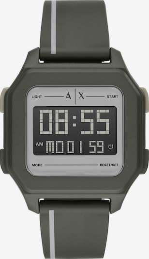 ARMANI EXCHANGE Digitaluhr AX2953 in grau / schwarz, Produktansicht