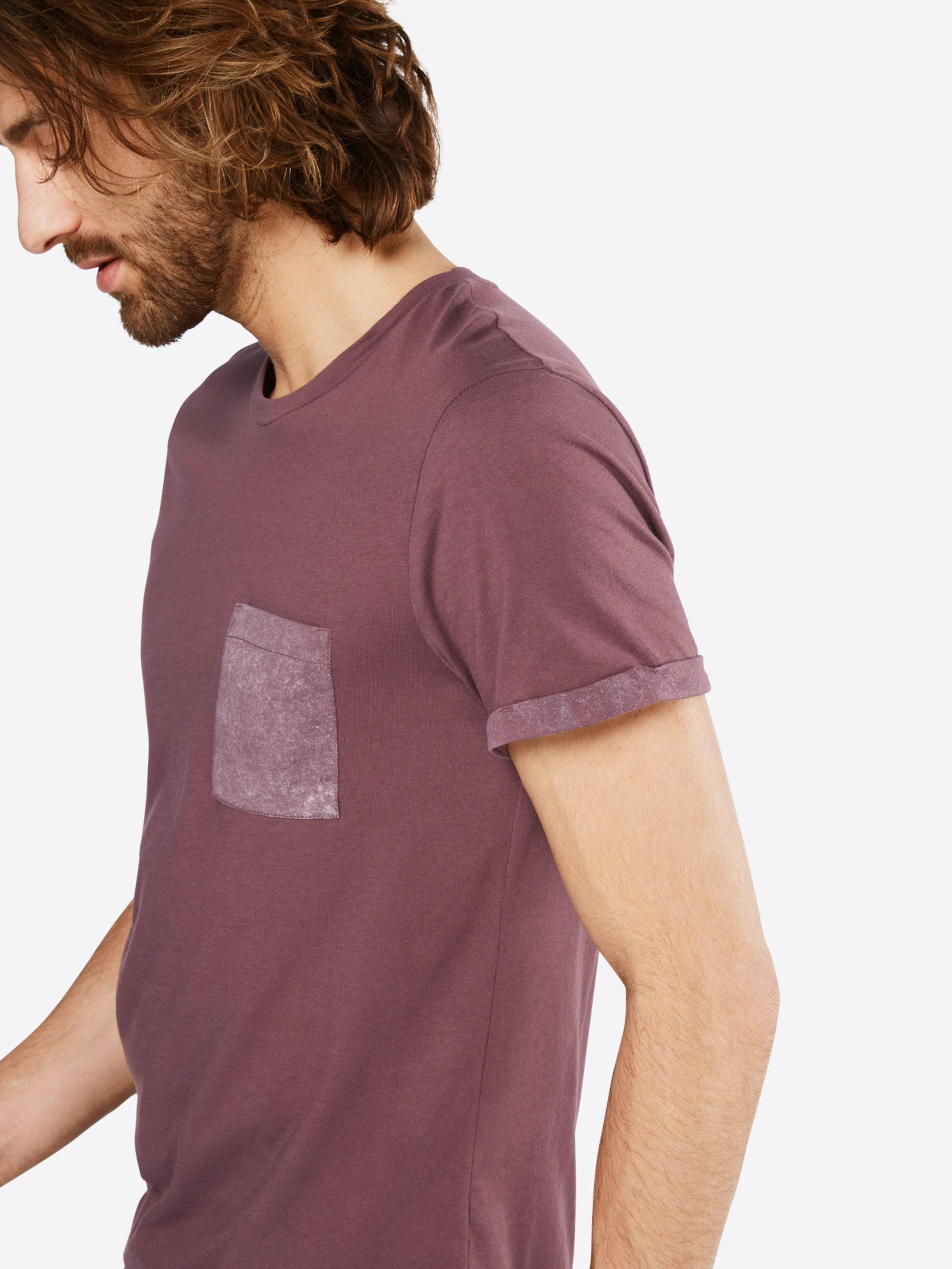Shirt T turnup' TAILOR TOM DENIM washed w 'Tee pocket and fqEwtwaR