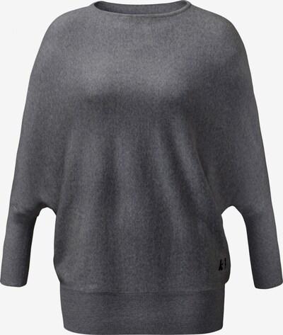 CURARE Yogawear Oversize Pullover in basaltgrau, Produktansicht