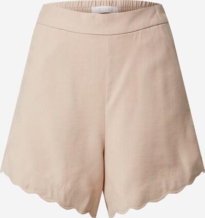 VILA Shorts 'VIJAJULES' in beige / camel, Produktansicht