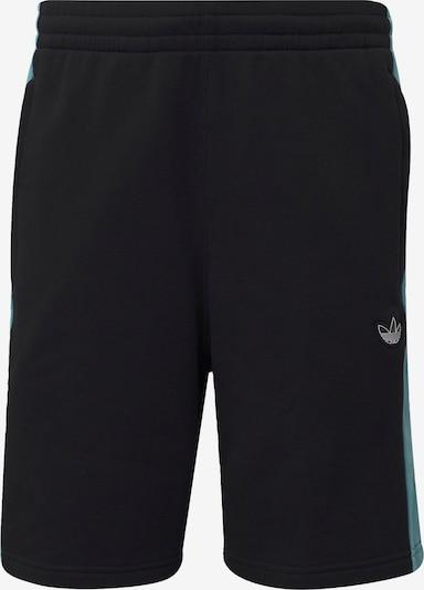 ADIDAS ORIGINALS Pantalon 'Panel Trefoil' en bleu clair / noir, Vue avec produit