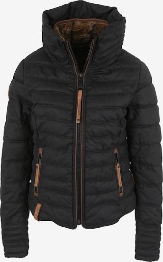 naketano Jacke 'Feierbiest' in rostbraun / schwarz, Produktansicht
