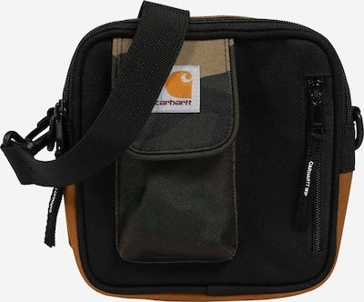 Carhartt WIP Sac à bandoulière 'Essentials' en cognac / noisette / vert foncé / noir, Vue avec produit