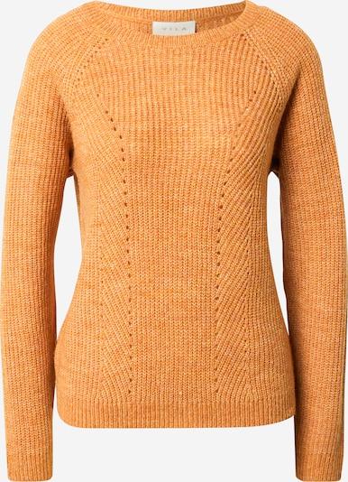 VILA Trui 'VISURIL' in de kleur Sinaasappel, Productweergave
