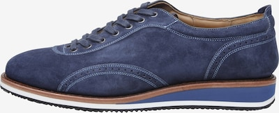 SHOEPASSION Sneaker rahmengenäht 'No. 967' in blau: Frontalansicht