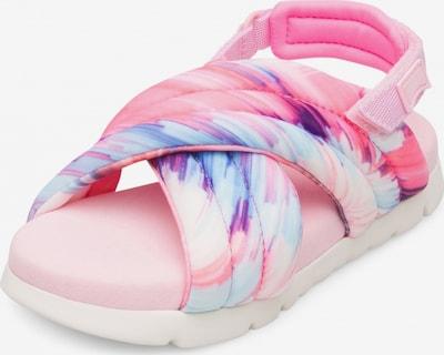 CAMPER Sandale 'Oruga' in dunkellila / pink / rosa / hellpink, Produktansicht