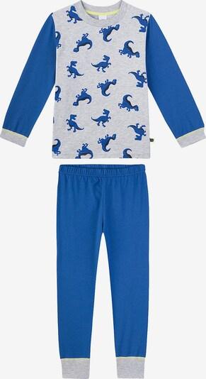 SANETTA Schlafanzug in blau / grau, Produktansicht