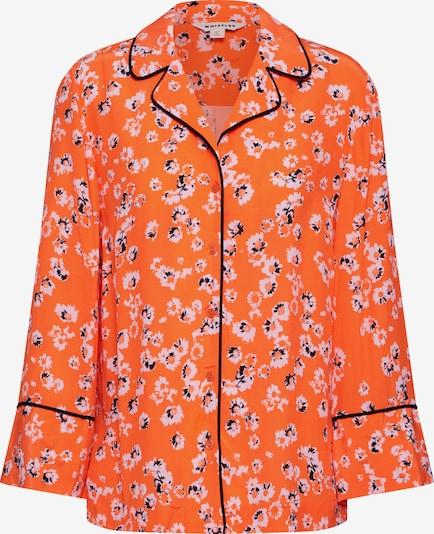 Whistles Blouse 'DIGITAL DAISY PYJAMA SHIRT' in de kleur Donkeroranje, Productweergave