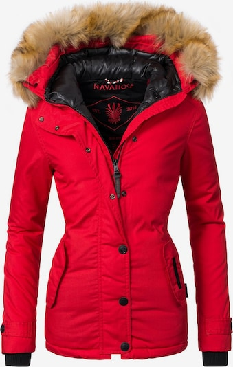 NAVAHOO Winterjacke 'Laura' in rot, Produktansicht
