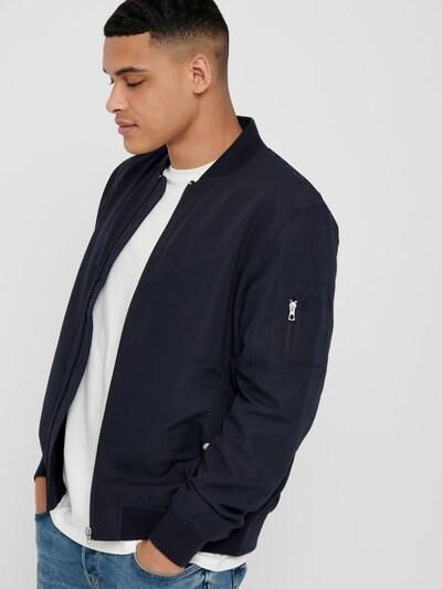 Only & Sons Prijelazna jakna u noćno plava: Prednji pogled