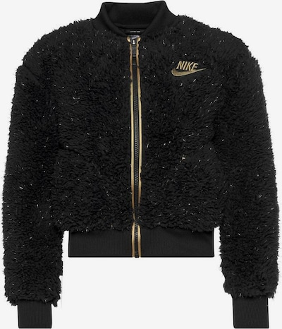 Nike Sportswear Jacke in gold / schwarz, Produktansicht