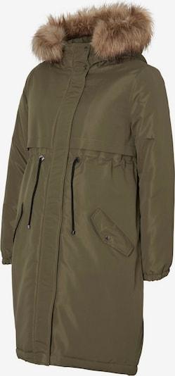 MAMALICIOUS Manteau d'hiver en olive, Vue avec produit