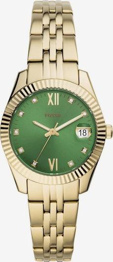 FOSSIL Uhr 'SCARLETTE MINI' in gold / grün, Produktansicht