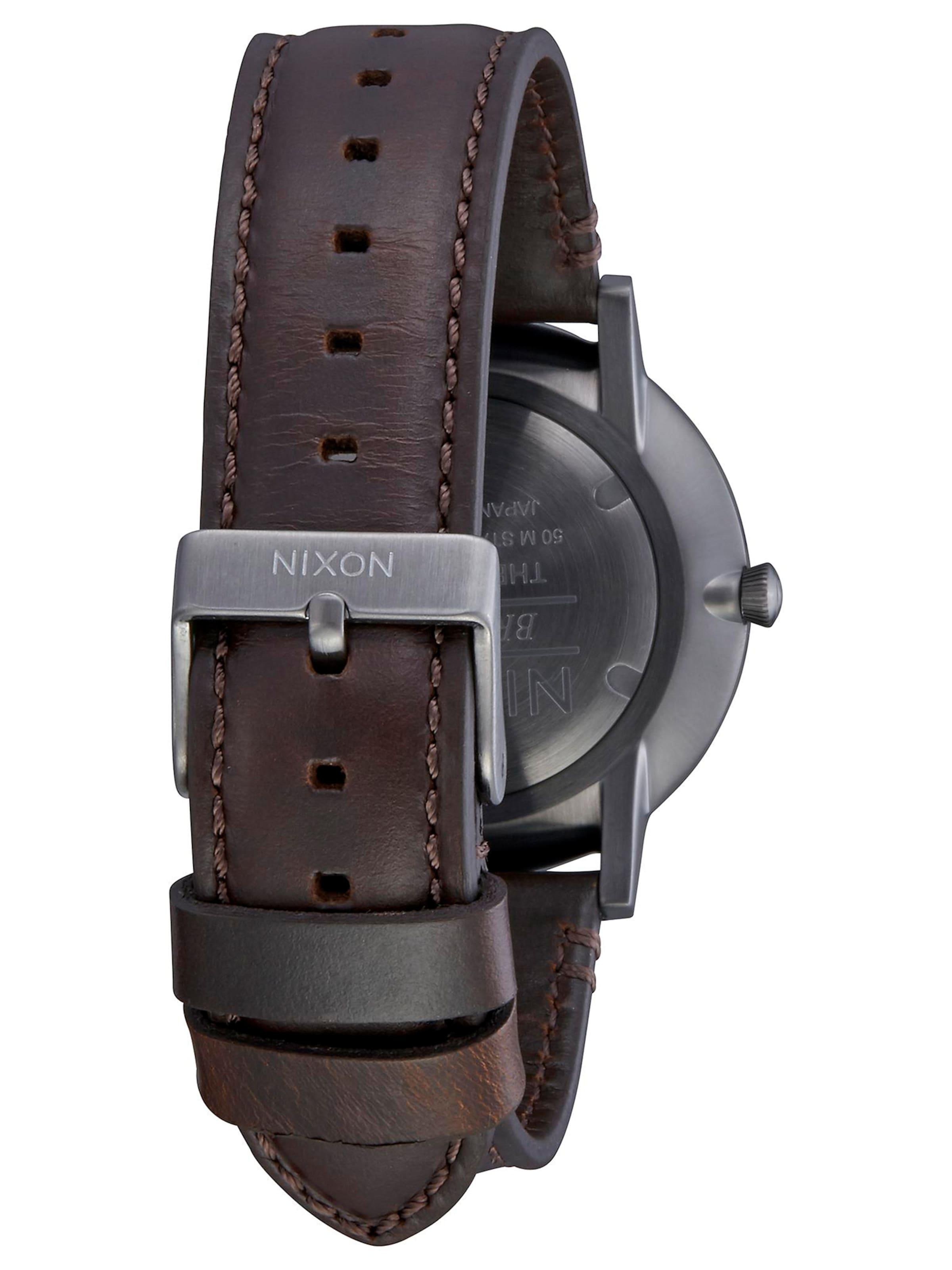 'porter Armbanduhr Nixon In Braun Leather' bf7yYgv6