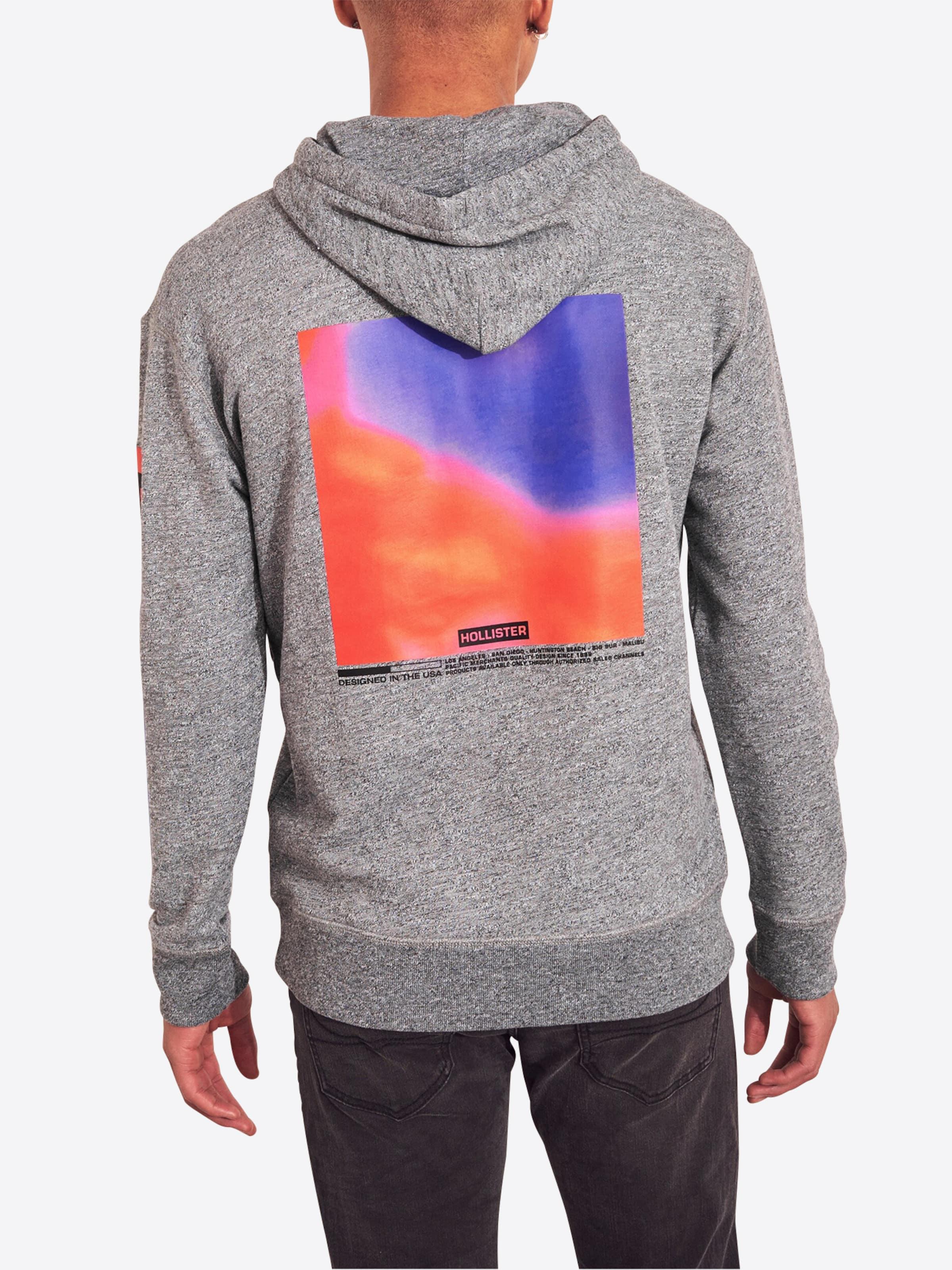 In Sweatshirt Hollister Sweatshirt Hollister Grau Hollister Grau In D2HEI9