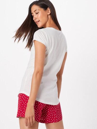 Hailys Shirt 'Ella' in pink / weiß: Rückansicht