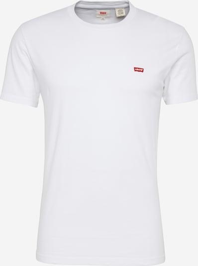 LEVI'S T-Shirt in rot / weiß, Produktansicht