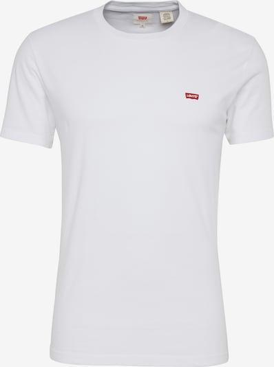 LEVI'S Shirt 'ORIGINAL HM TEE' in de kleur Rood / Wit, Productweergave