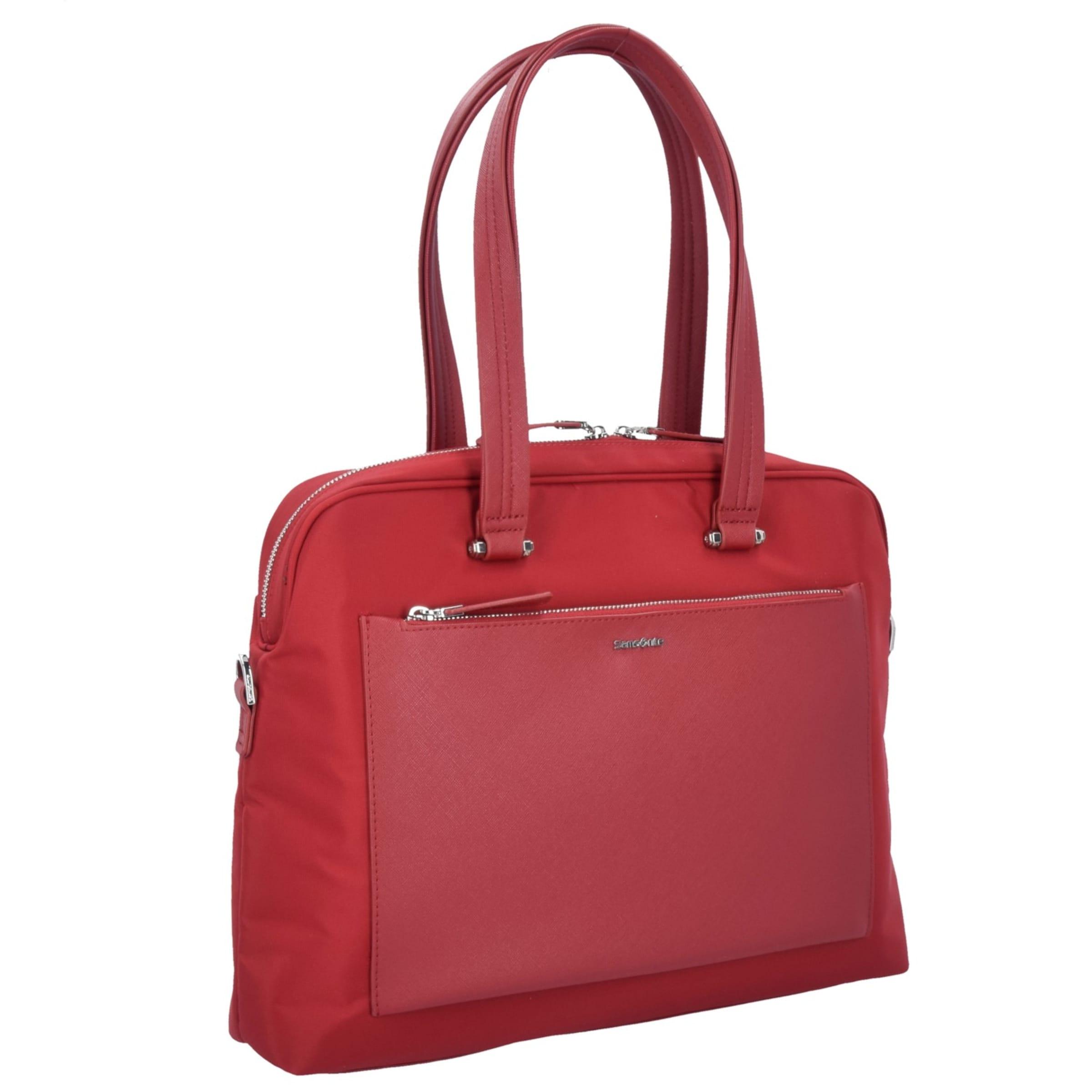 Zalia Samsonite Cm Businesstasche Laptopfach In Rot 41 WD29IEH
