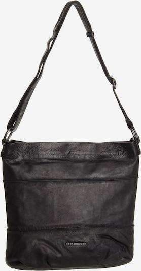 FREDsBRUDER Handtasche ' Oh Crowny! ' in schwarz: Frontalansicht