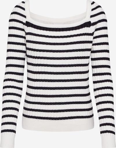 Noisy may Pullover 'VINCE' in schwarz / weiß, Produktansicht
