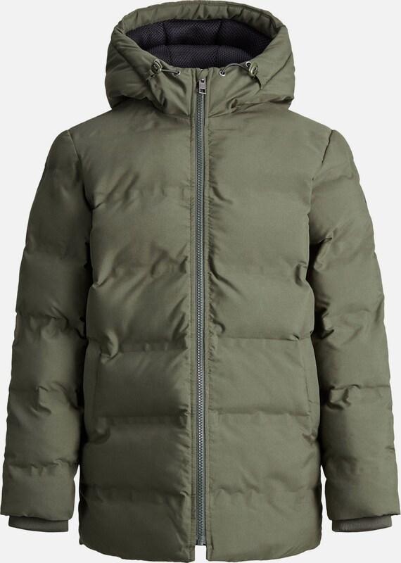 a3b1faa94ccf85 JACK   JONES JONES JONES Wasserabweisender Boy s Jacke in grün  Markenkleidung für Männer und Frauen a8cfc2