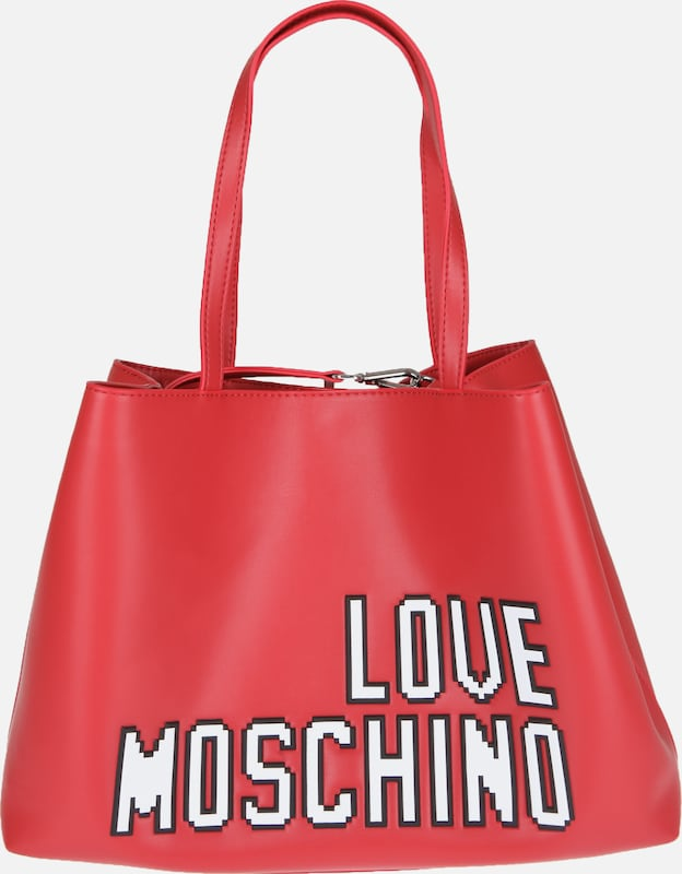 Love Moschino Shopper 'BORSA SOFT NAPPA PU ROSSO'