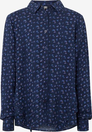 TOM TAILOR Bluse in blue denim / dunkelblau, Produktansicht