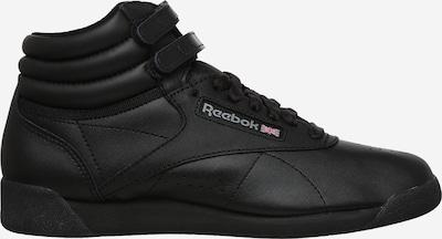 Reebok Classics High-Top Sneakers in Black: Side view