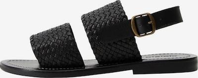 VIOLETA by Mango Sandaletten in schwarz, Produktansicht