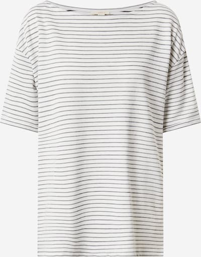 ESPRIT T-Shirt in schwarz / offwhite, Produktansicht