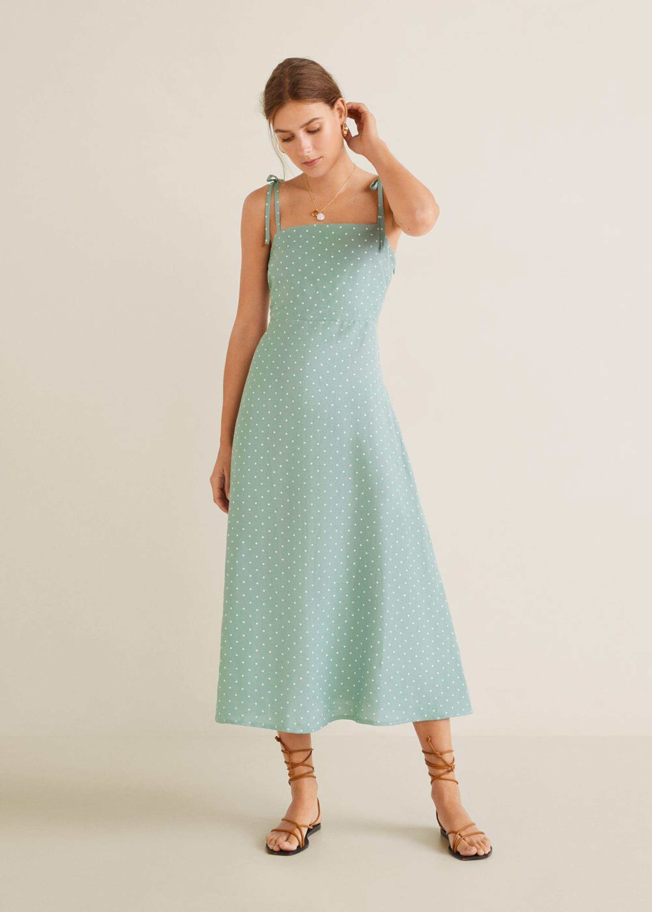 Kleid 'agnes' Kleid In JadeWeiß 'agnes' Mango Mango In 'agnes' In Kleid JadeWeiß Mango wPTZuXiOk