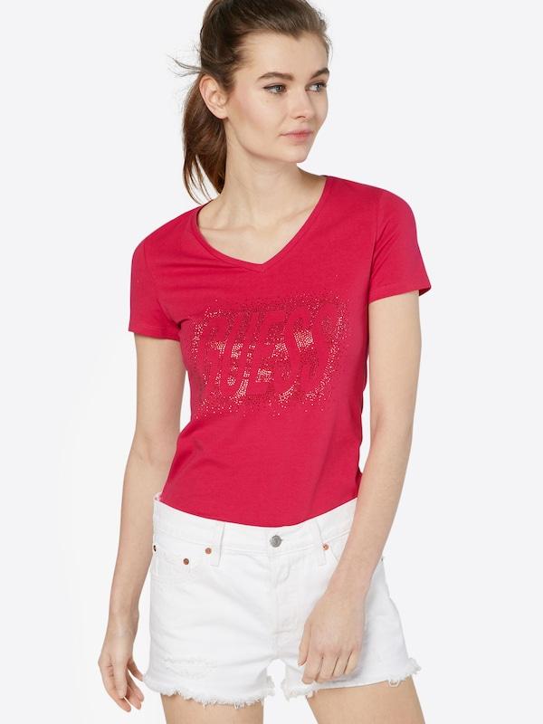 GUESS T-Shirt 'STUDS LOGO'