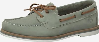 TAMARIS Schuh in braun / pastellgrün, Produktansicht
