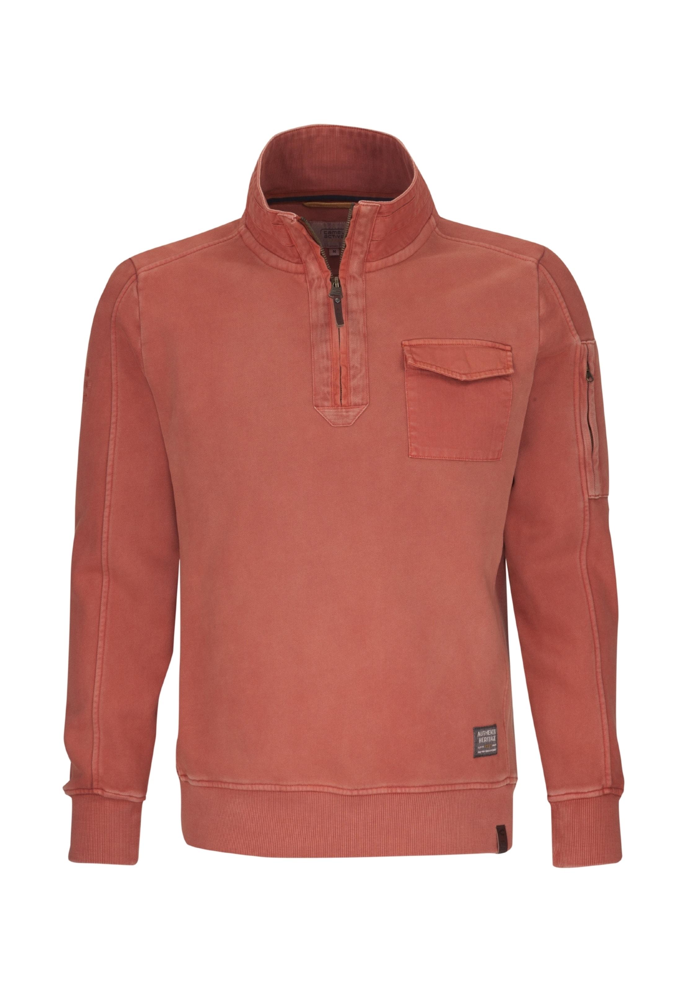 Rouge Active En Camel Rouille shirt Sweat cF1TlKJ