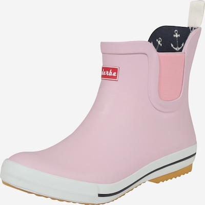 Derbe Gummistiefelette 'Wattpuuschen' in rosa, Produktansicht