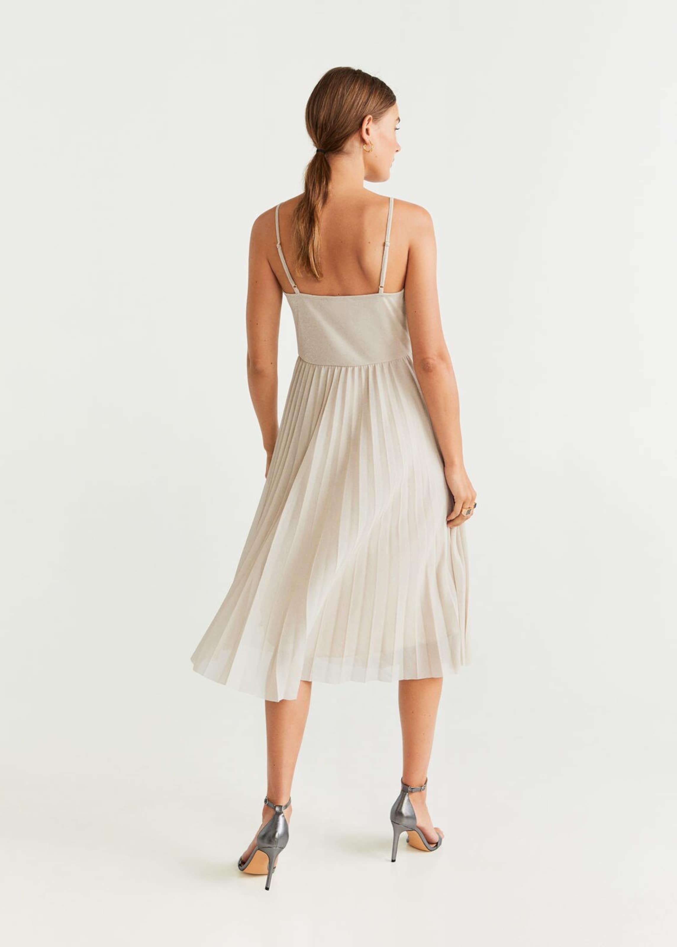 'lurik Kleid Beige In Mango x' j4RLq35A