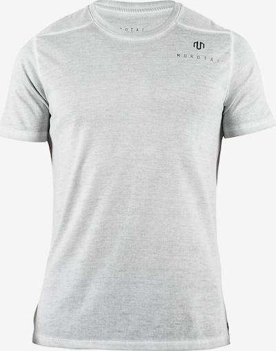 MOROTAI T-Shirt fonctionnel 'Active Dry' en gris chiné, Vue avec produit