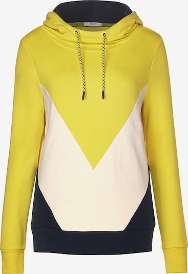 CECIL Sweatshirt in gelb / schwarz / weiß, Produktansicht