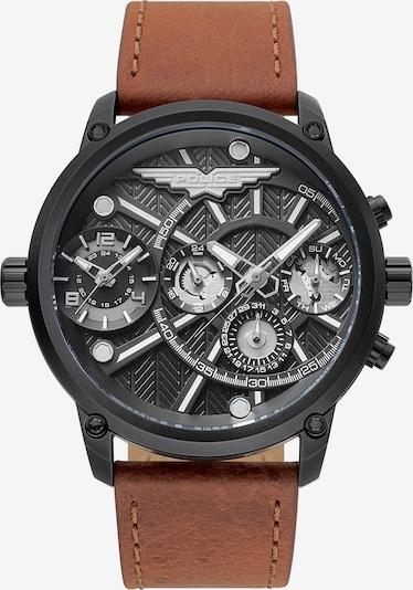 POLICE Uhr 'Onset PL15928JSB.61A' in rostbraun / anthrazit, Produktansicht