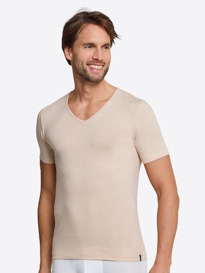 SCHIESSER T-Shirt in beige: Frontalansicht