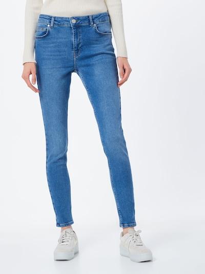 Jeans Noisy may pe denim albastru: Privire frontală