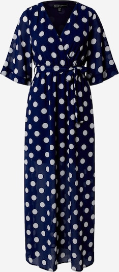 Mela London Jurk 'POLKA DOT' in de kleur Navy / Wit, Productweergave