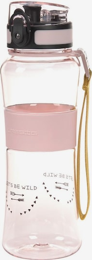 LÄSSIG Trinkflasche 'Adventure' in beige / pink / schwarz, Produktansicht