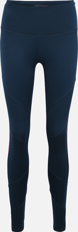 HKMX Leggings 'HW Legging L2  fleece ET' in dunkelblau, Produktansicht