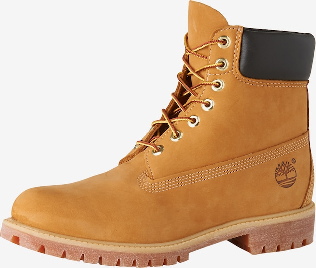 TIMBERLAND Bottines à lacets 'AF 6IN Premium Boot' en curry, Vue avec produit
