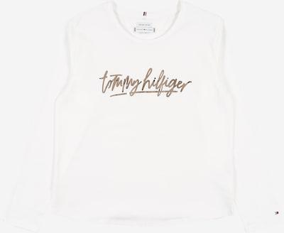 TOMMY HILFIGER Shirt in silbergrau / weiß, Produktansicht