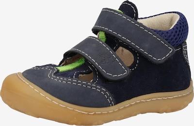 Pepino Chaussure basse en bleu / bleu cobalt, Vue avec produit